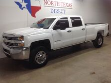 Chevrolet Silverado 2500HD Built After Aug FREE DELIVERY 2500 HD 4x4 Diesel Crew Rhino Liner Park Assist 2015