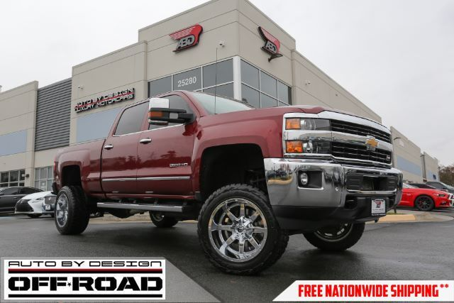 2015 Chevrolet Silverado 2500HD LTZ Crew Cab 4WD Chantilly VA