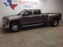 2015_Chevrolet_Silverado 3500HD Built After Aug 14_LTZ 4X4 Dually Diesel Allison GPS Navi Camera Lane Alert_ Mansfield TX