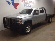 2015_Chevrolet_Silverado 3500HD Built After Aug_FREE DELIVERY LTZ 4x4 Diesel Flat Bed Gps Navi Leather Camera_ Mansfield TX