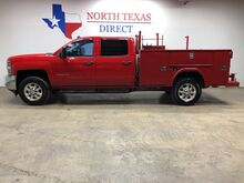 2015_Chevrolet_Silverado 3500HD Built After Aug_LT 4WD Utility Bed Tow Package Crew Cab Keyless_ Mansfield TX