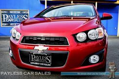 2015_Chevrolet_Sonic_LTZ / Automatic / Turbocharged / Heated Leather Seats / Sunroof / Auto Start / Bluetooth / Back-Up Camera / 1-Owner_ Anchorage AK