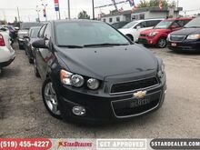2015_Chevrolet_Sonic_LTZ   ROOF   CAM   LEATHER_ London ON