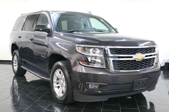 2015_Chevrolet_Tahoe_4WD 4dr LT, Factory Warranty, 1 Owner, Clean Carfax, Luxury Package, Entertainment System, Sun, Entertainment and Destinations Package, Moonroof, Passive Entry System, Third Row,_ Leonia NJ