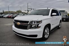 2015_Chevrolet_Tahoe_LT / 4X4 / 5.3L V8 / Lowered / Auto Start / Heated Leather Seats / Bose Speakers / 3rd Row / Seats 8 / Bluetooth / Back Up Camera / Cruise Control / Tow Pkg / 22 MPG_ Anchorage AK