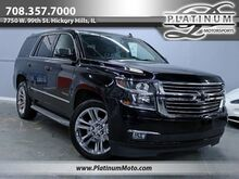 2015_Chevrolet_Tahoe LTZ_1 Owner Nav Roof Bucket Seats Chrome Rims Loaded_ Hickory Hills IL