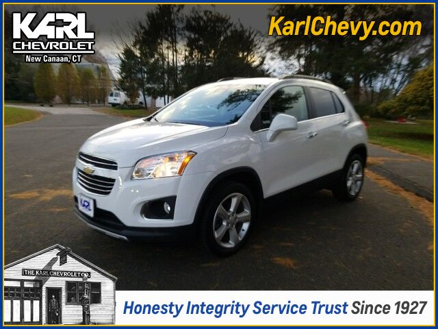 2015 Chevrolet Trax LTZ New Canaan CT