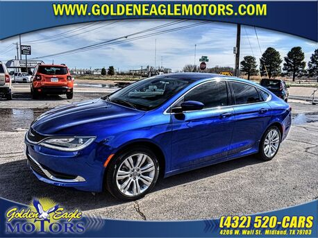 2015_Chrysler_200_4DR SDN LIMITED FWD_ Midland TX