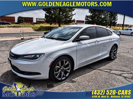 2015_Chrysler_200_4DR SDN S FWD_ Midland TX