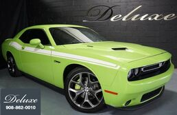 Dodge Challenger R/T Plus, Navigation System, Rear-View Camera, Blind Spot Monitor, Bluetooth Streaming Audio, Ventilated Leather Sport Seats, Power Sunroof, 20-Inch Polished Alloy Wheels, 2015