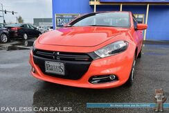 2015_Dodge_Dart_GT / 6-Spd Manual / Heated Leather Seats & Steering Wheel / Navigation / Sunroof / Blind Spot Alert / Alpine Speakers / Bluetooth / Back Up Camera / 31 MPG / Only 10K Miles_ Anchorage AK