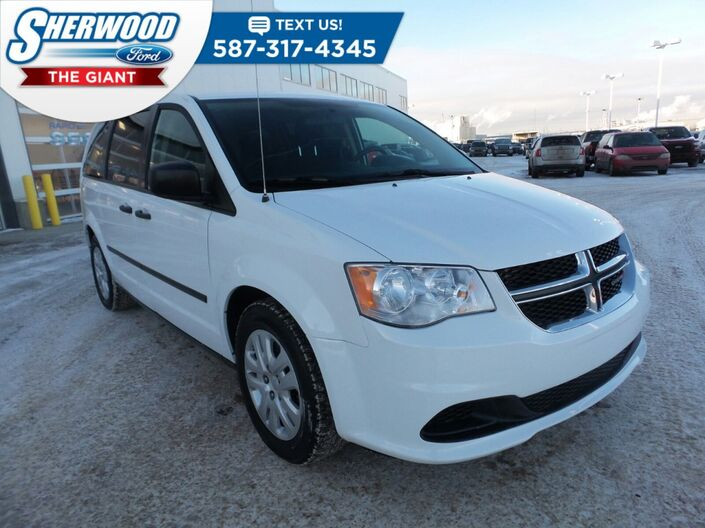 2015 Dodge Grand Caravan Canada Value Package Sherwood Park AB