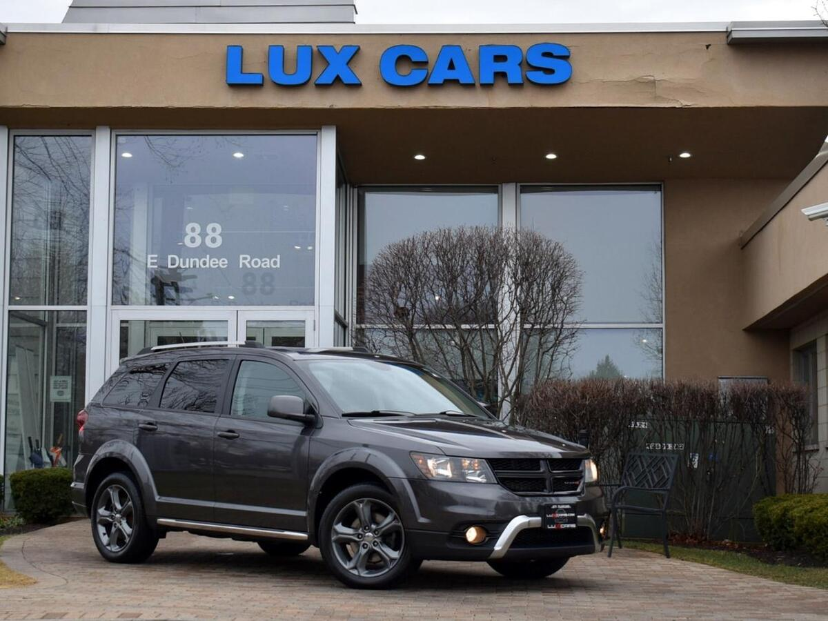 2015_Dodge_Journey_Crossroad Leather 3Rd Row AWD MSRP $32,990_ Buffalo Grove IL