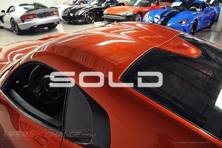 2015 Dodge SRT Viper  Tomball TX