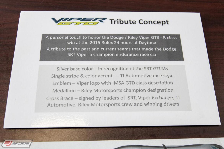 2015 Dodge SRT Viper SRT Tomball TX
