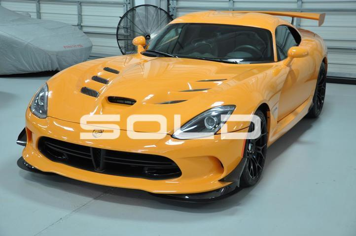 2015 Dodge SRT Viper TA 2.0 Tomball TX