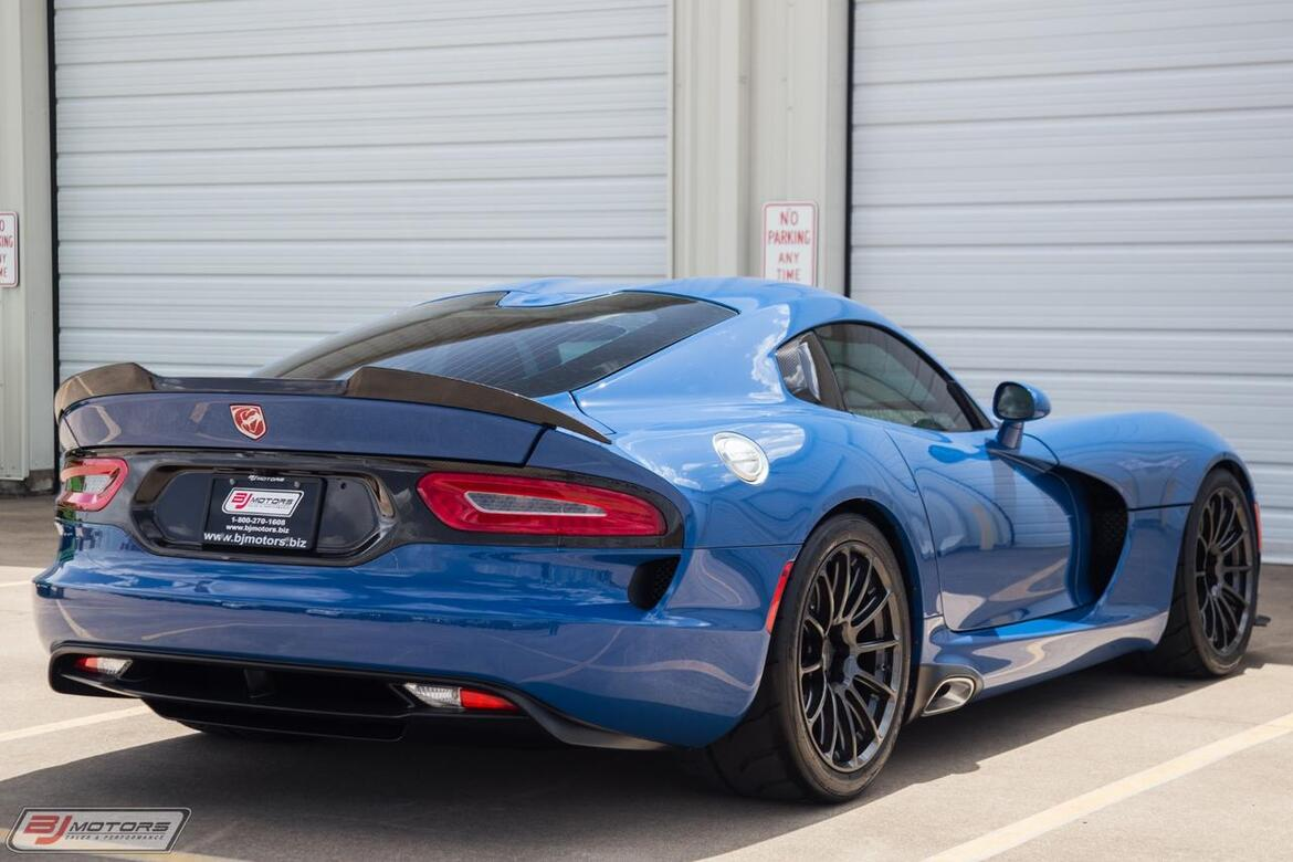 2015 Dodge Viper GTC 1 Of 1 Tomball TX