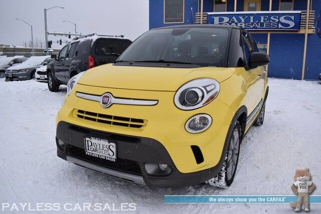 2015 FIAT 500L Trekking / Automatic / Nero Roof / Beats Premium Audio / Bluetooth / Back Up Camera / Rear Park Assist / USB & Aux Jacks / Cruise Control / Aluminum Wheels / Block Heater / 33 MPG Anchorage AK