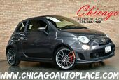 2015 FIAT 500c Abarth Convertible - 1.4L I4 MULTIAIR TURBO ENGINE FRONT WHEEL DRIVE BLACK/ RED CLOTH SPORT SEATS BLACK POWER SOFT TOP