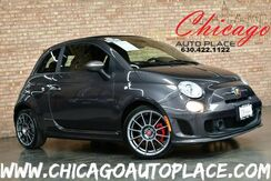 2015_FIAT_500c_Abarth Convertible - 1.4L I4 MULTIAIR TURBO ENGINE FRONT WHEEL DRIVE BLACK/ RED CLOTH SPORT SEATS BLACK POWER SOFT TOP_ Bensenville IL