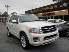 FORD EXPEDITION LIMITED, CERTIFIED W/WARRANTY, LEATHER, SUNROOF, 3RD ROW, NAV, FULLY LOADED, ONLY 1 OWNER, GORGEOUS! 2015