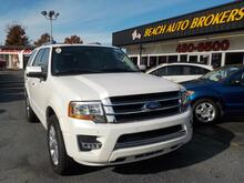 2015_FORD_EXPEDITION_LIMITED,BUYBACK GUARANTEE, WARRANTY, LEATHER, SUNROOF, 3RD ROW, NAV, FULLY LOADED, ONLY 1 OWNER!_ Norfolk VA