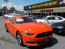 2015_FORD_MUSTANG_FASTBACK, CERTIFIED W/ WARRANTY, BLUETOOTH, BACKUP CAM, KEYLESS START, AUX PORT, ONLY 1 OWNER!!_ Norfolk VA