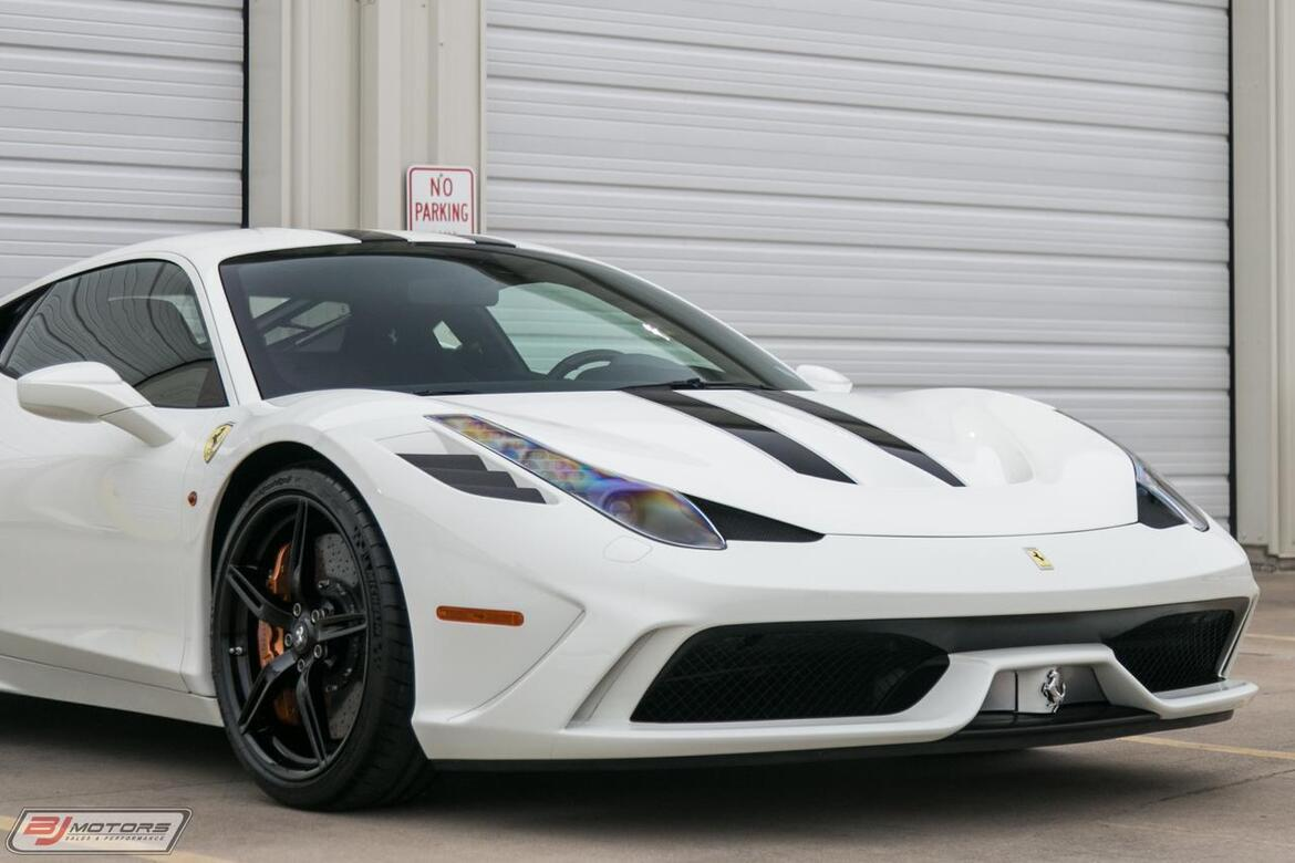 2015 Ferrari (Only 466 Miles) 458 Italia Speciale Tomball TX