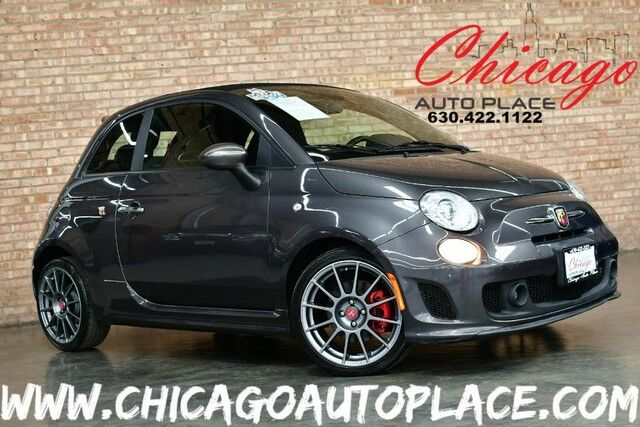 2015 Fiat 500c Abarth Convertible - 1.4L I4 MULTIAIR TURBO ENGINE FRONT WHEEL D Bensenville IL