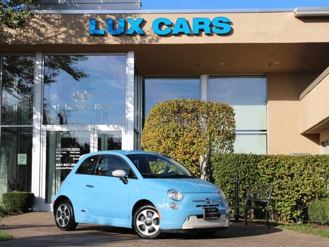 2015_Fiat_500e_Electric Nav_ Buffalo Grove IL