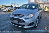 2015 Ford C-Max Hybrid SE / Automatic / Microsoft Sync Bluetooth / Back Up Camera / Cruise Control / 42 MPG / Only 32K Miles / 1-Owner
