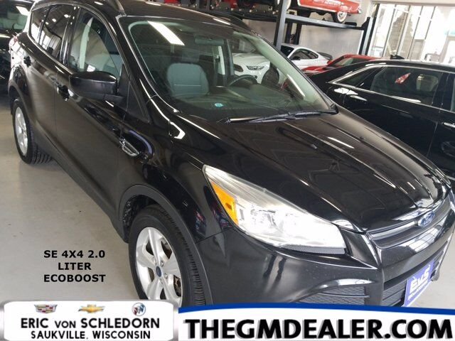 2015 Ford Escape SE 4WD 2.0L EcoBoost w/SYNC RearCamera Milwaukee WI