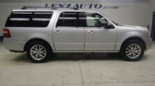 Ford Expedition EL 4WD Limited: 3.5L-NAV-MOON-BENCH-THIRD-REVERSE CAMERA-SONY-LEATHER-CD PLAYER-4WD-1 OWNER 2015