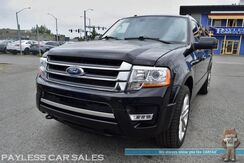 2015_Ford_Expedition EL_Limited / 4X4 / Ecoboost / Heated & Ventilated Leather Seats / Navigation / Sunroof / Auto Start / Sony Speakers / Microsoft Sync Bluetooth / Back Up Camera / Power 3rd Row / Seats 8 / Power Running Boards / Tow Pkg_ Anchorage AK