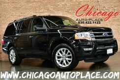 2015_Ford_Expedition_Limited - 3.5L V6 ECOBOOST ENGINE 4 WHEEL DRIVE BLACK LEATHER HEATED/COOLED SEATS NAVIGATION BACKUP CAMERA KEYLESS GO 3RD ROW SUNROOF_ Bensenville IL