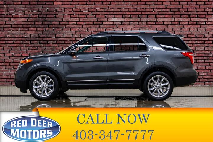2015 Ford Explorer AWD XLT Leather Roof Nav Red Deer AB