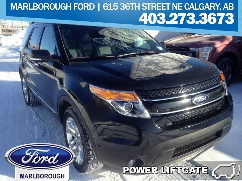 2015 Ford Explorer Limited  - Leather Seats -  Bluetooth Calgary AB