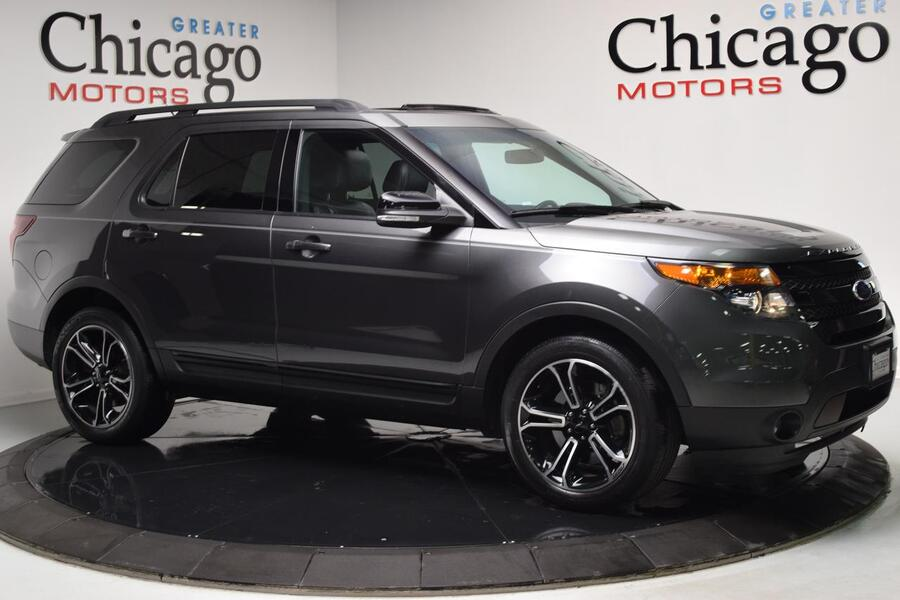 2015_Ford_Explorer_Sport_ Glendale Heights IL
