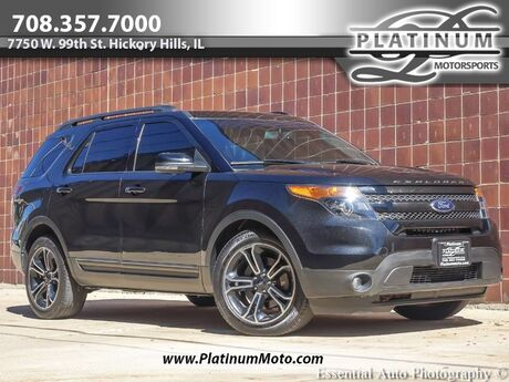 2015 Ford Explorer Sport Navigation Rear Cam Third Row Pano Roof Hickory Hills IL