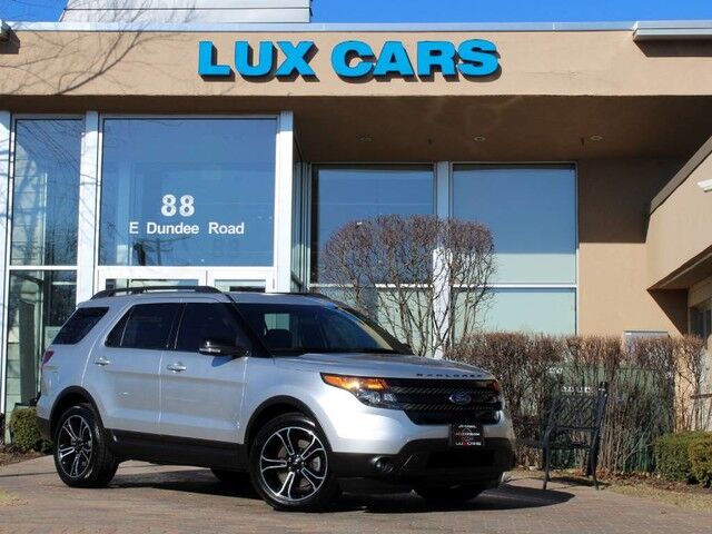 2015_Ford_Explorer_Sport Panoroof Nav 4WD_ Buffalo Grove IL