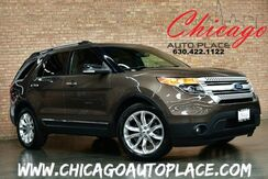 2015_Ford_Explorer_XLT - 1 OWNER LOW MILES CLEAN CARFAX BLACK LEATHER HEATED SEATS BACKUP CAMERA PANORAMIC ROOF 3RD ROW SEATS POWER LIFTGATE BLUETOOTH_ Bensenville IL