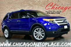 2015_Ford_Explorer_XLT - 3.5L V6 ENGINE 4WD NAVIGATION BACKUP CAMERA PANO ROOF BLACK LEATHER HEATED SEATS 3RD ROW SEATS POWER LIFTGATE_ Bensenville IL