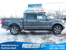 2015_Ford_F-150_4WD Lariat Sport, Panoramic Sunroof, Nav, Remote Start, Heated/Cooled Leather, Bluetooth, Backup Camera_ Calgary AB