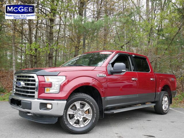 2015 Ford F-150 4WD SuperCrew 145 XLT Pembroke MA