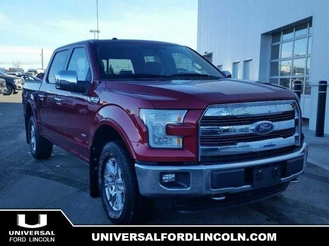2015 Ford F-150 Lariat  - Certified - Leather Seats Calgary AB