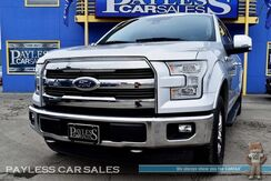 2015_Ford_F-150_Lariat / 4X4 / FX4 Off Road Pkg / Crew Cab / Heated & Ventilated Leather Seats / Heated Steering Wheel / Navigation / Panoramic Sunroof / Sony Speakers / Microsoft Sync Bluetooth / Surround View Camera / Auto Start / Tow Pkg / 1-Owner_ Anchorage AK