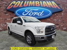 2015_Ford_F-150_Lariat_ Columbiana OH