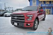 2015 Ford F-150 Lariat FX4 / 4X4 / 3.5L Ecoboost / Crew Cab / Heated & Cooled Leather Seats / Navigation / Auto Start / Sony Speakers / Panoramic Sunroof / Blind Spot Alert / Bluetooth / Back Up Camera / Bed Liner / Tow Pkg