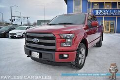 2015_Ford_F-150_Lariat FX4 / 4X4 / 3.5L Ecoboost / Crew Cab / Heated & Cooled Leather Seats / Navigation / Auto Start / Sony Speakers / Panoramic Sunroof / Blind Spot Alert / Bluetooth / Back Up Camera / Bed Liner / Tow Pkg_ Anchorage AK