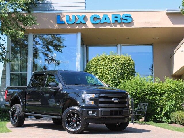2015_Ford_F-150_Lariat Nav Leather Lifted 4WD_ Buffalo Grove IL